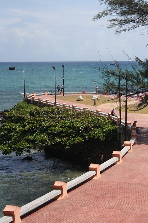 Puerto Plata, Beach, Costa, Sunny Day, Landscape