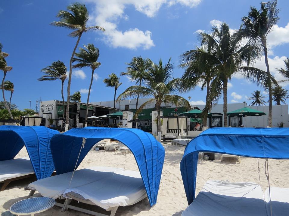 Beach, Aruba, Relax