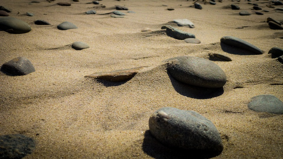 Rocks, Beach, Wind, Sand, Ocean, Summer, Shore, Holiday