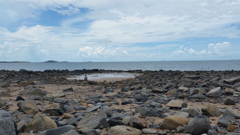 Rocky Beach, Rocks, Coast, Bay, Beach, Sea, Ocean