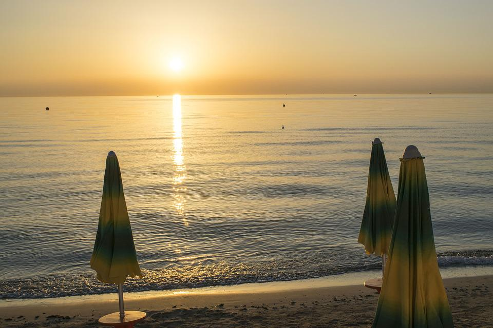Waters, Dawn, Sea, Beach, Wallpaper, Background, Nature