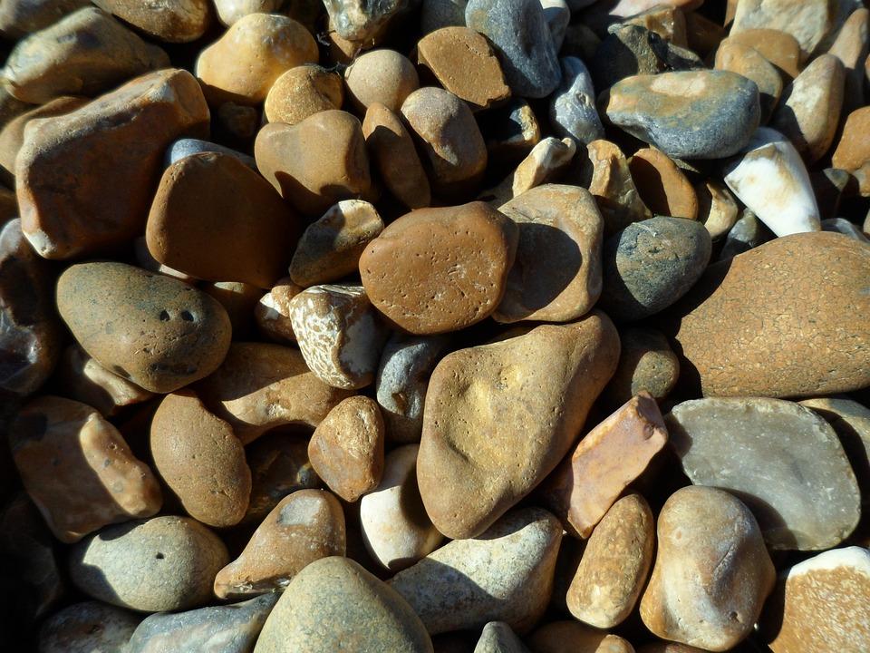 Pebbles, Sea, Beach