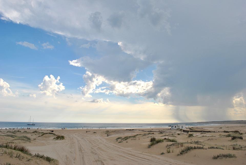 Uruguay, Beach, Clouds, Sky, Sea, Nature, Good Looking
