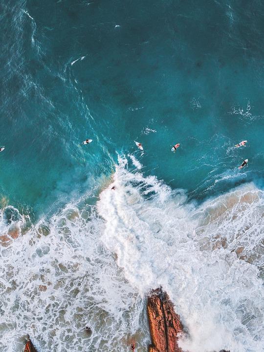 Sea, Waves, Coast, Surfing, Surfers, Surf, Beach, Ocean
