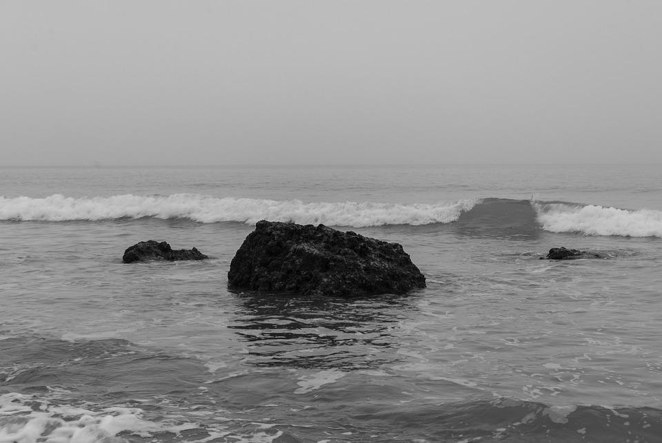 Sea, Body Of Water, Ocean, Beach, Seascape
