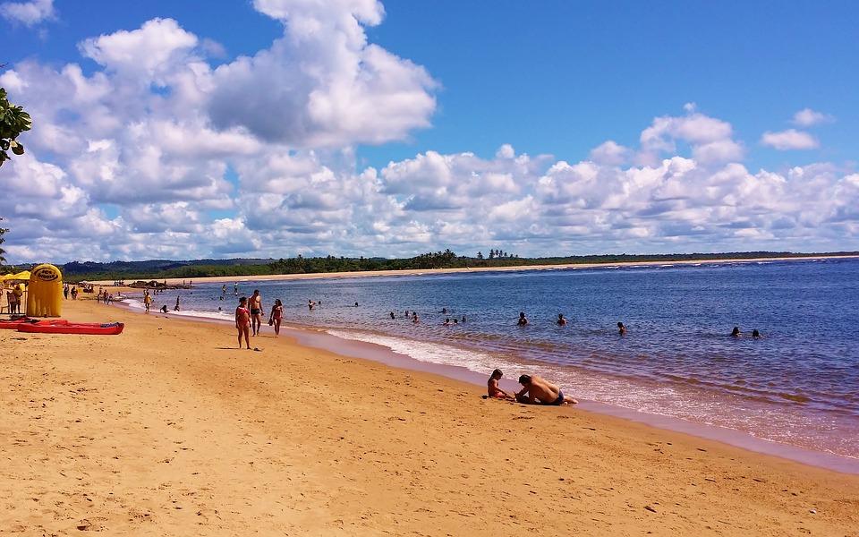 Beach Shell, Itacaré, Bahia, Brazil, Beira Mar, Mar