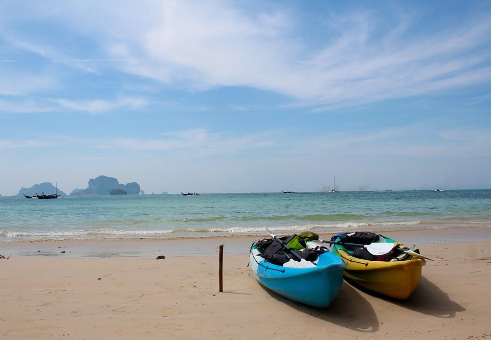 Thailand, Boot, Romance, Water, Sea, Ship, Beach, Ocean