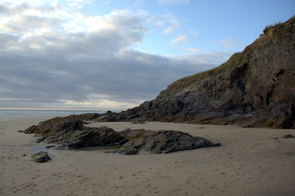 Golden Beach, Beach, Sky, Scenic, Cornwall, Atlantic