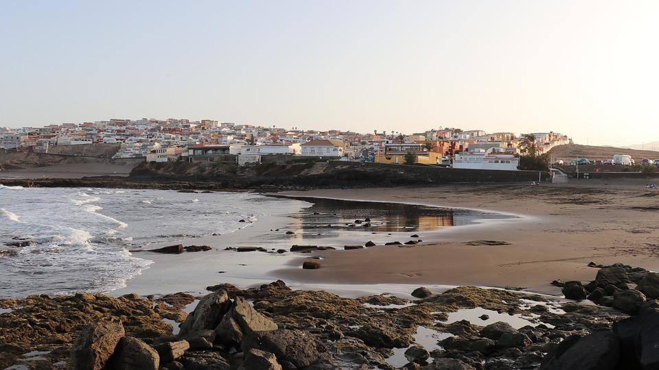 Gran Canaria, Canary Islands, Spain, Ocean, Beach