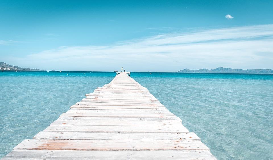 Mallorca, Spain, Alcudia, Beach, Paradise