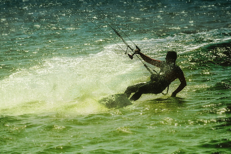 Kite Surf, Beach, Sports In The Water, Sport