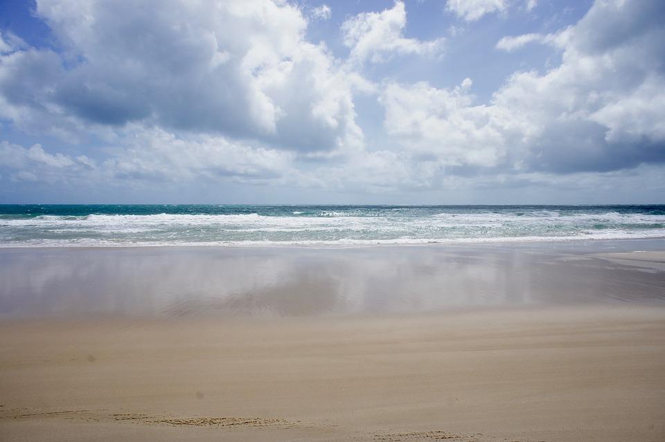 Sea, Brazil, Sand, Beach, Ocean, Summer, Landscape, Sky