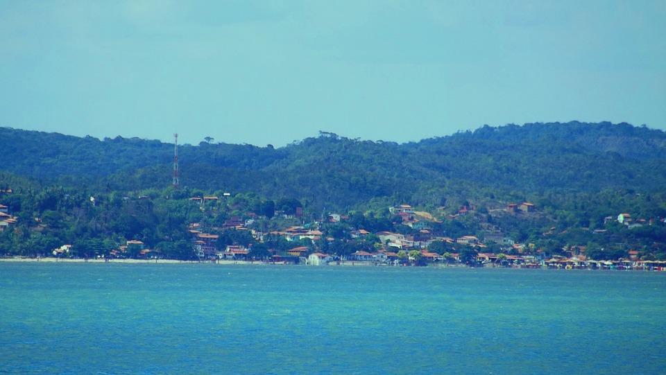 Houses, Mar, Costa, Beach, Summer, Sol, Sea Horizon
