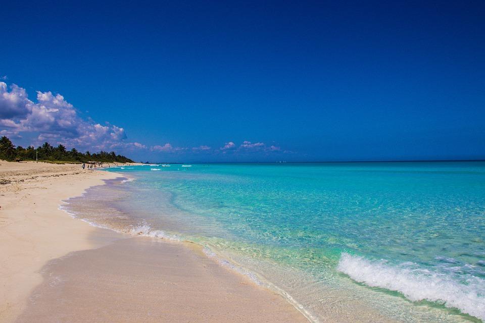 Varadero, Cuba, Beach, Summer, Water, Ocean, Sand, Wave