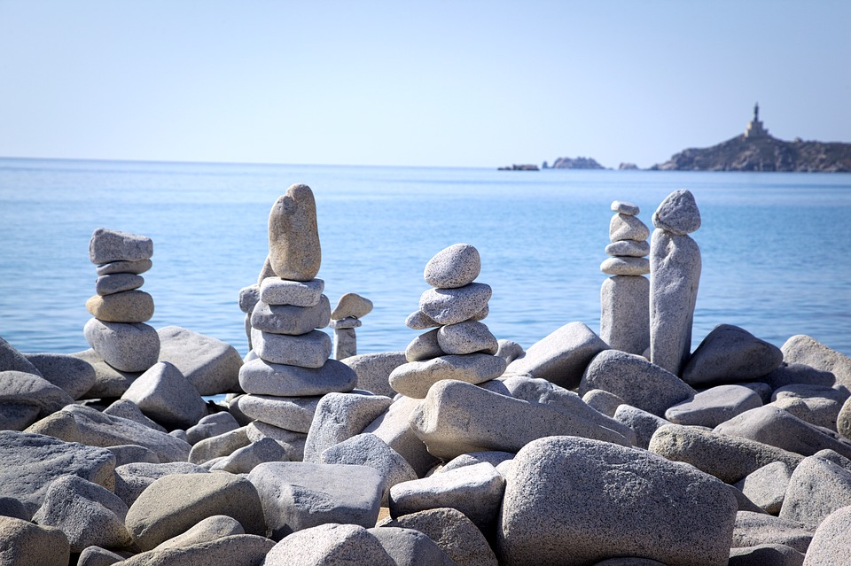 Beach, Sun, Sea, Sun And Sea, Stones, Holidays, Holiday