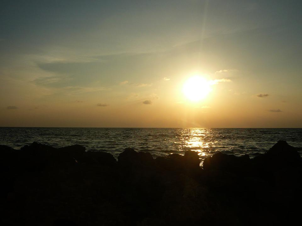 Cartagena, Sunset, Beach