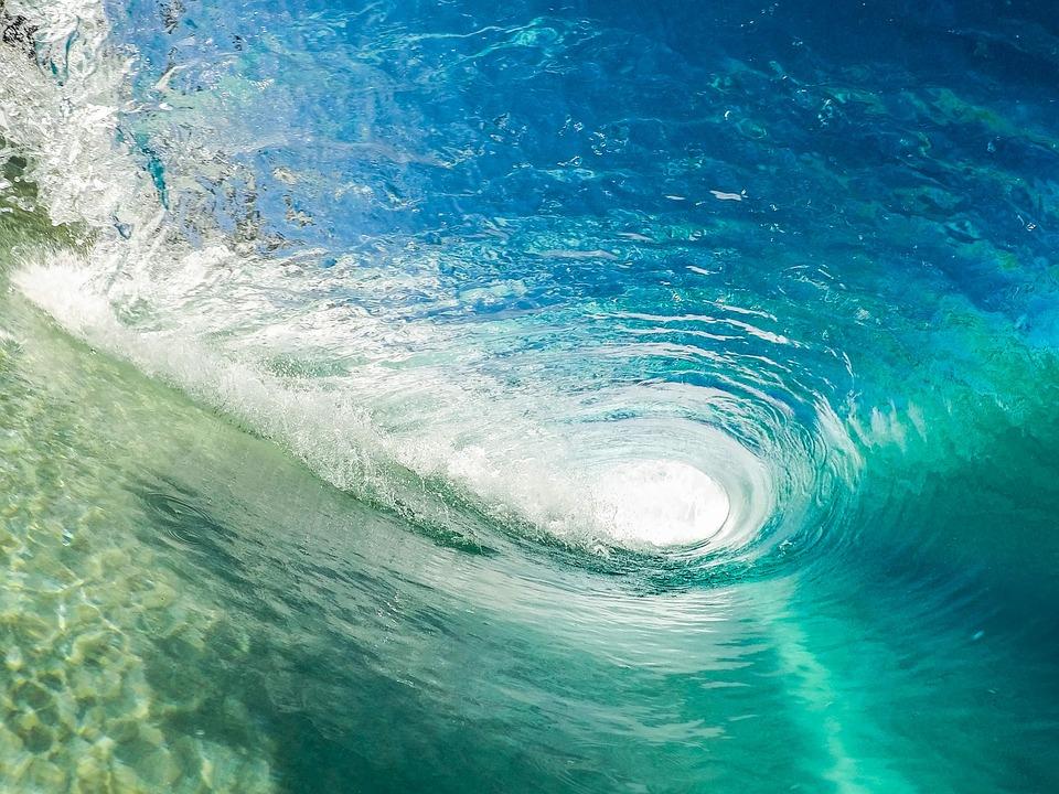 Beach, Ocean, Outdoors, Sea, Splash, Surf, Turquoise