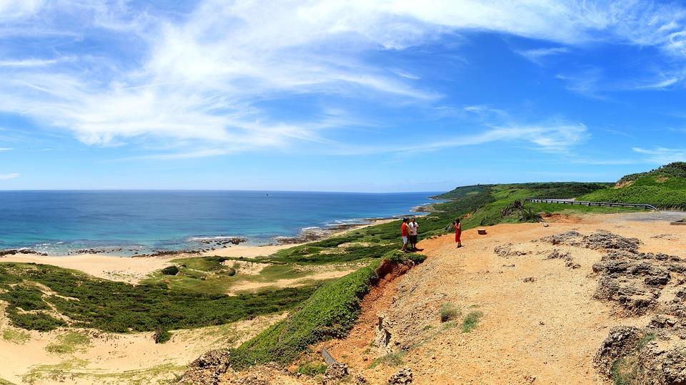 Nature, Sea, Sky, Coast, Waters, Beach, Taiwan, Kenting