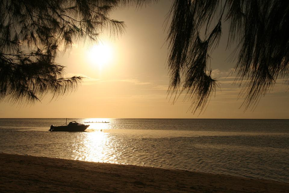 Sea, Beach, Sunset, Thailand