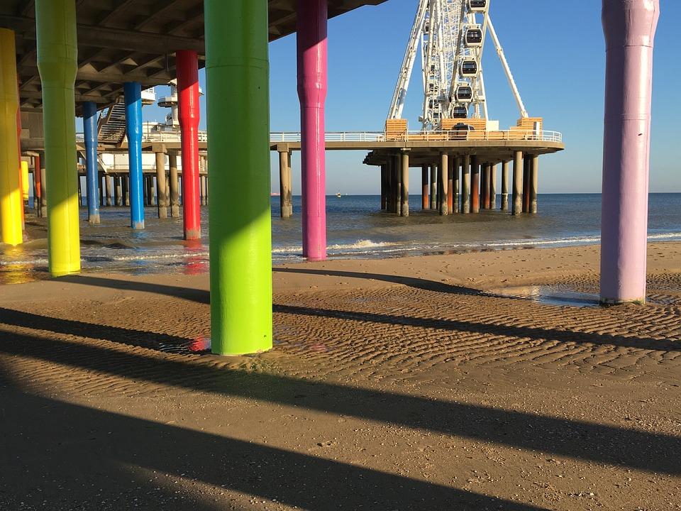 Scheveningen, Beach, Pier, The Hague, Ferris Wheel