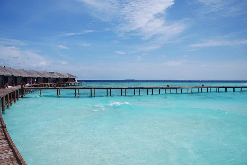 The Sea, Maldives, Views, Beach, White Sands