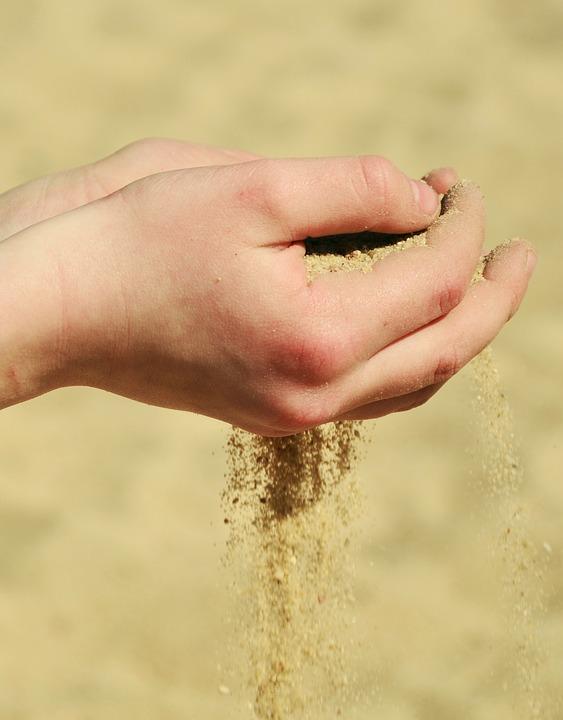 Free Photo Beach Trays Summer Symbolism Hands Sand Melt Away Max Pixel