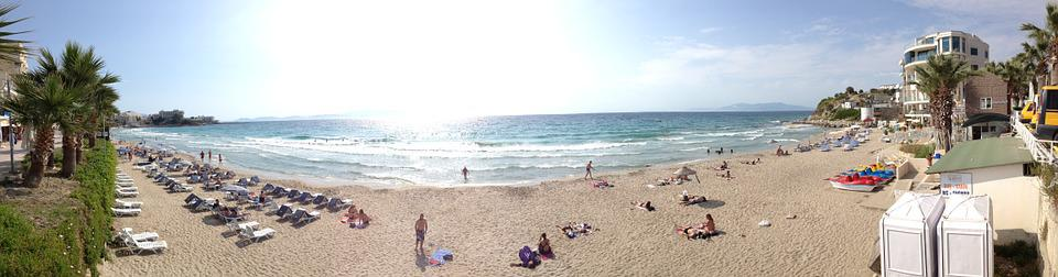 Turkey, Beach, Aegean Sea