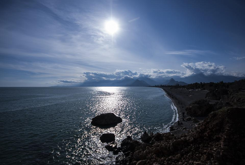 Solar, Marine, Beach, Landscape, Cloud, Sunset, Turkey