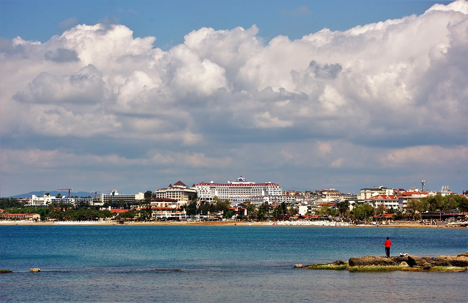 Hotel Complex, Turkey, Sea, Water, Beach, Coast, Travel