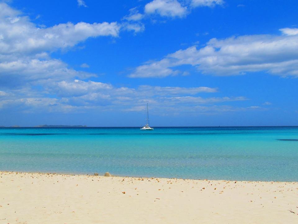 Sardinia, Beach, Sea, Water, Turquoise, Holiday