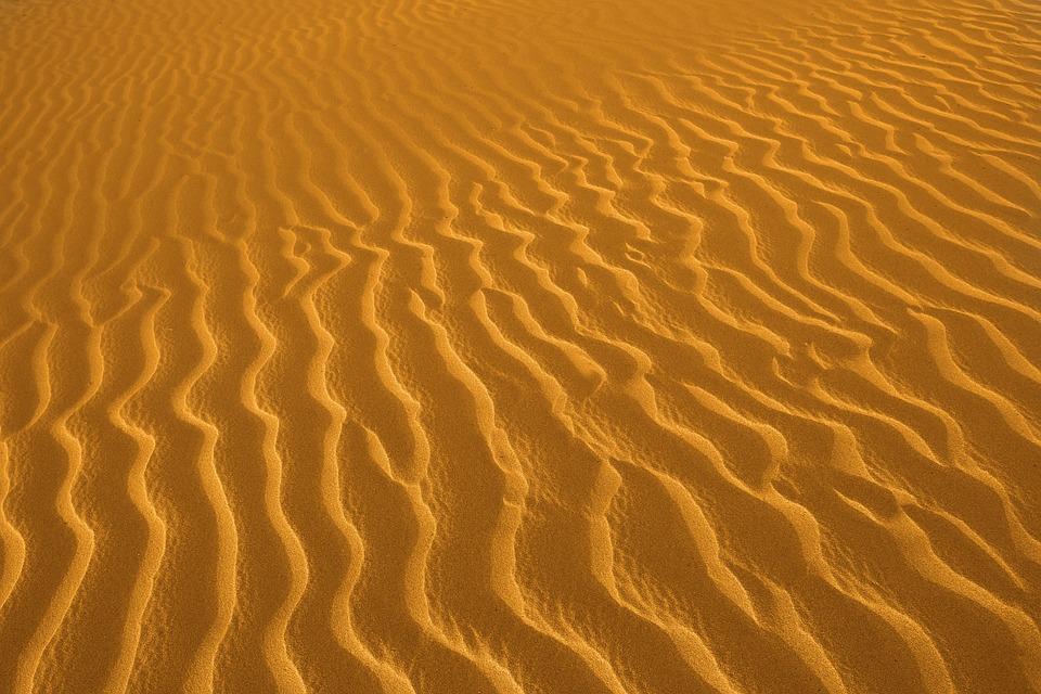 Beach, Shore, Sea, Sunset, Beach Sand, Warm, Horizon