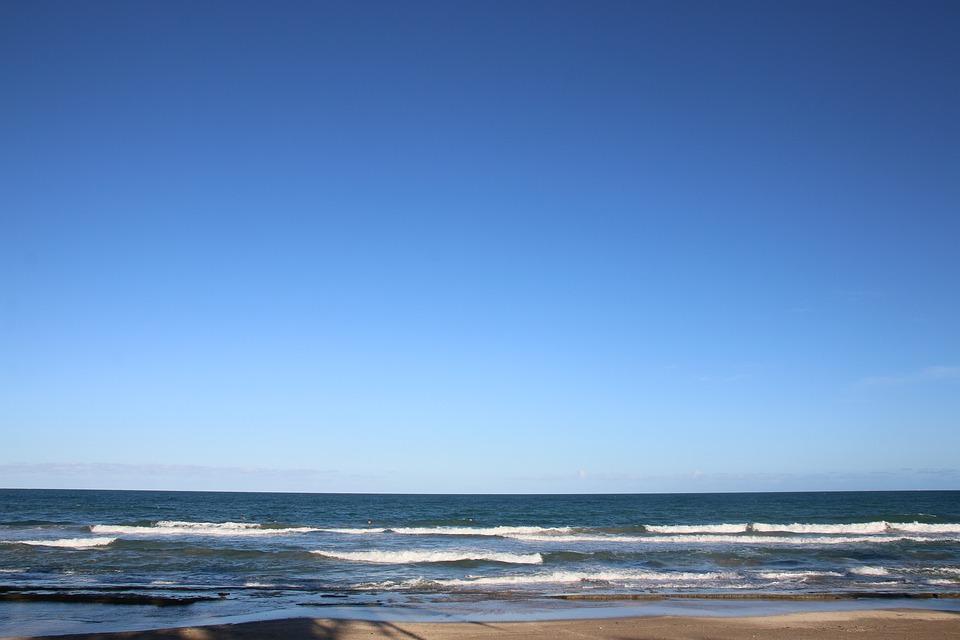 Porto De Galinhas, Beach, Ceu, Mar, Nature, Water