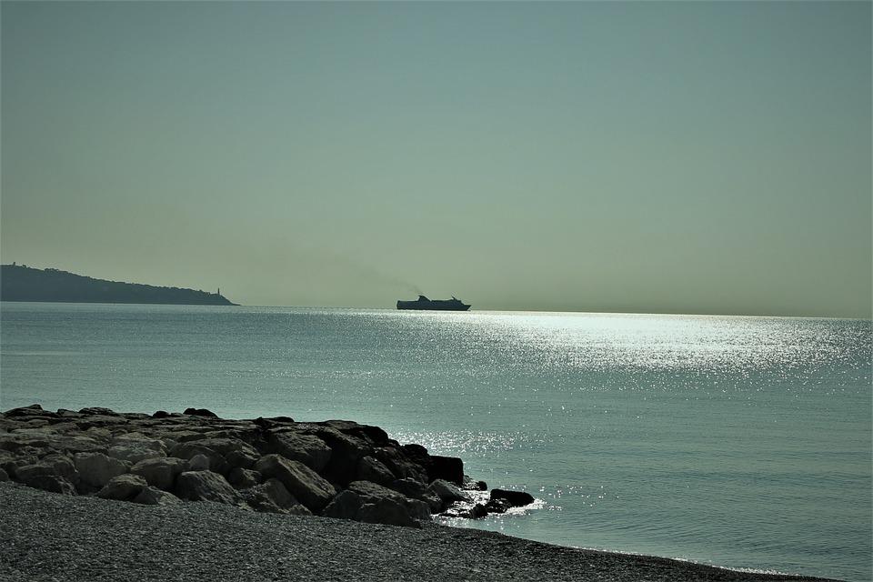Sea, Seaside, Beach, Nice, Roller, Boat, Water, Ocean