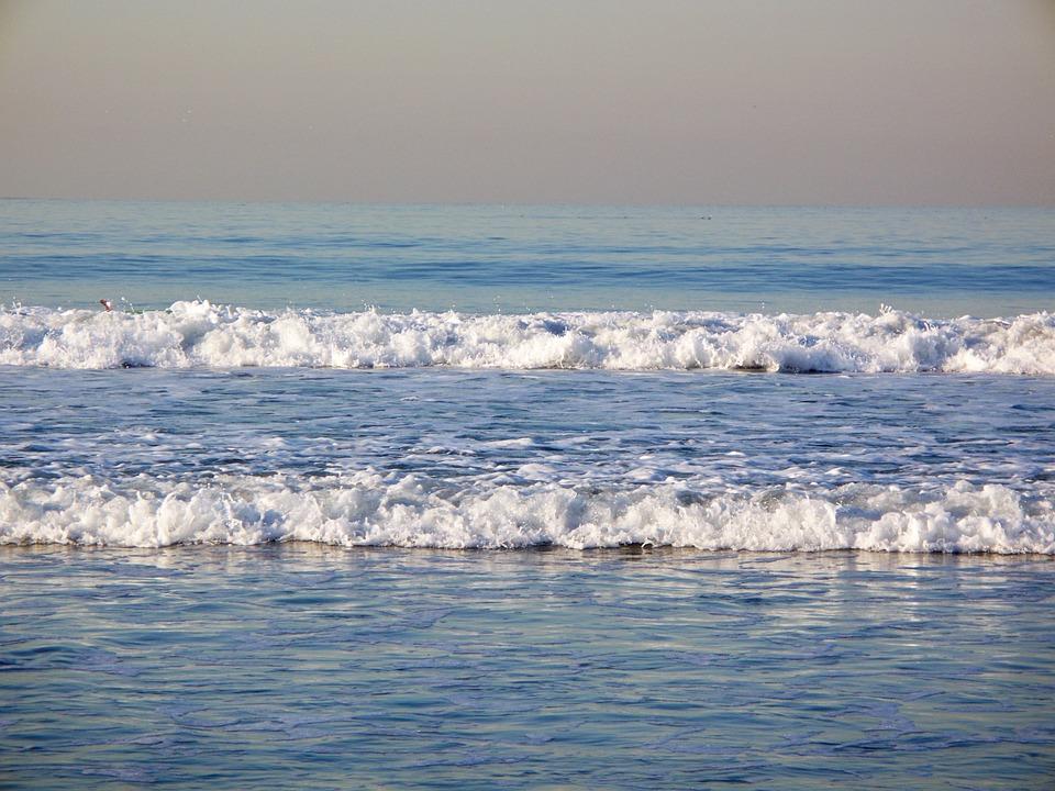 Ocean, Sea, Waves, Beach, Water, Nature, Outdoors