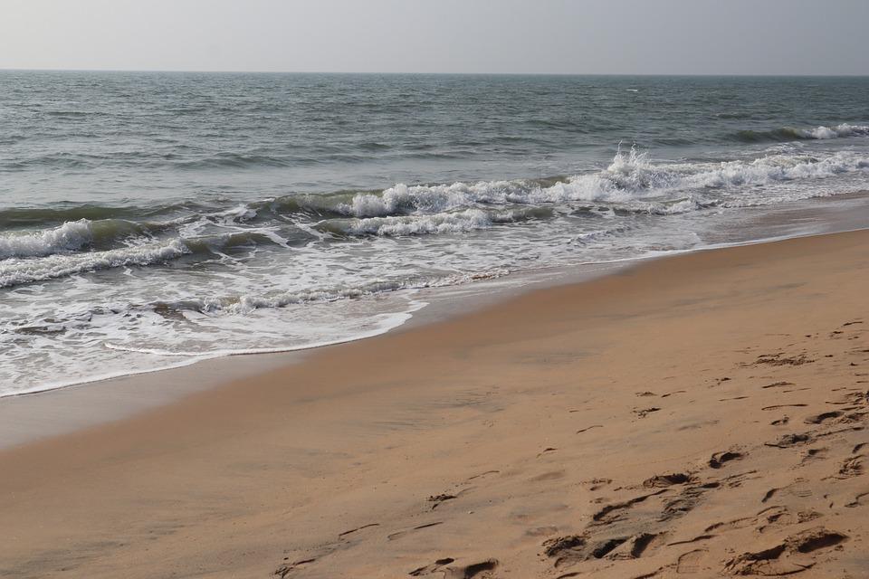 Sea, Waves, Beach, Sand