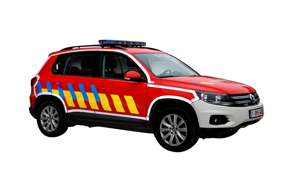Fire Department, Vehicle, Fire, Beacon