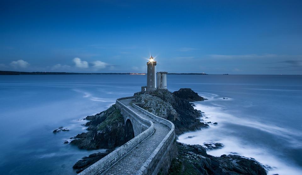 Lighthouse, Coast, Walkway, Beacon, Navigation