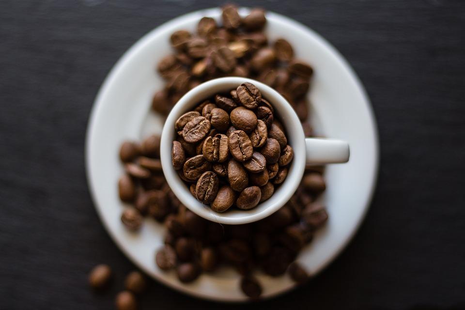 Coffee, Beans, Seeds, Cup, Caffeine, Cafe, Aroma