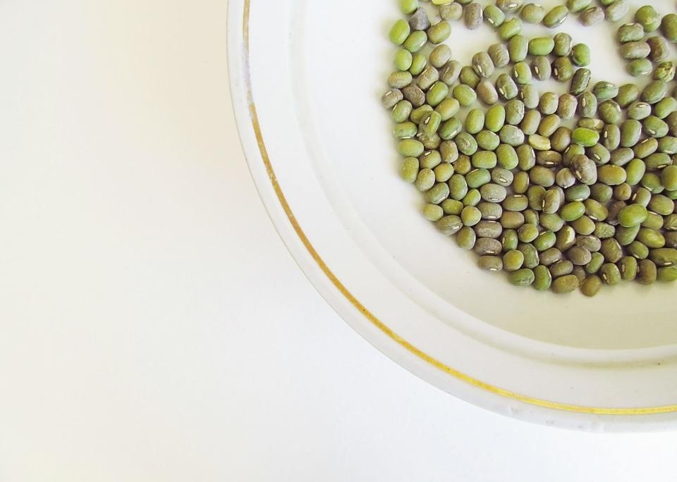 Lentils, Mung Beans, Beans, Top View