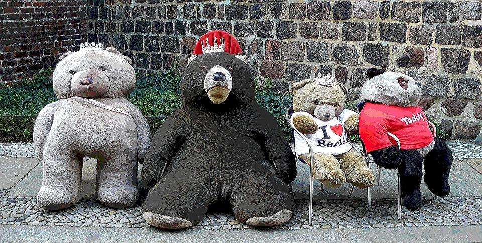 Bear, Teddy, Lazy, Rest, Animal, Animals, Bears