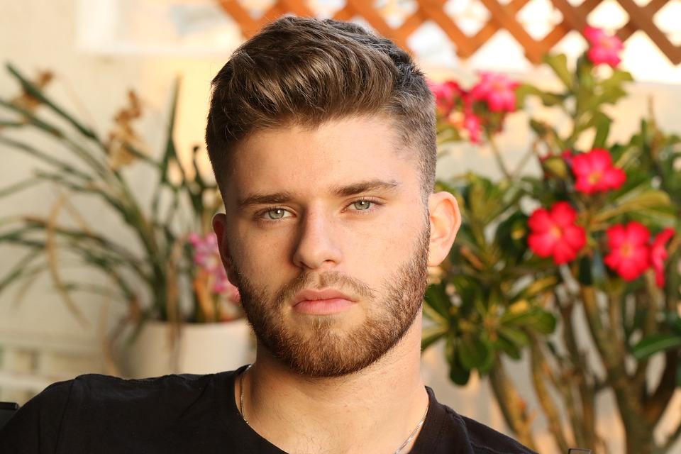 Young Man, Portrait, Beard, Haircut