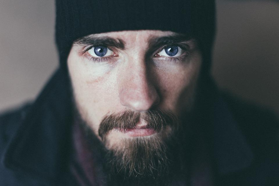 Beard, Man, Mustache, Person, Portrait