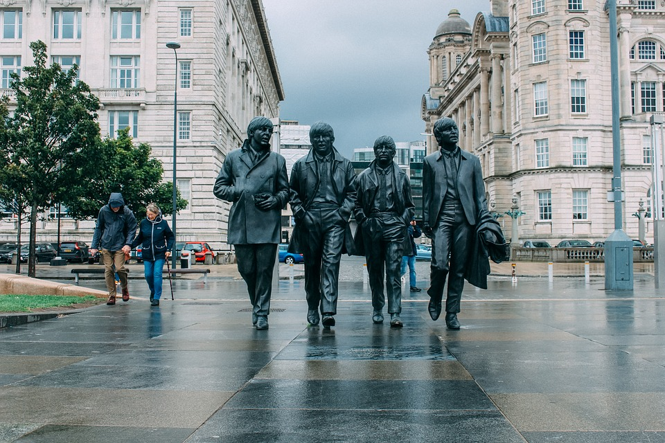 Beatle, Liverpool, Raining, The Beatles, Music, Statue