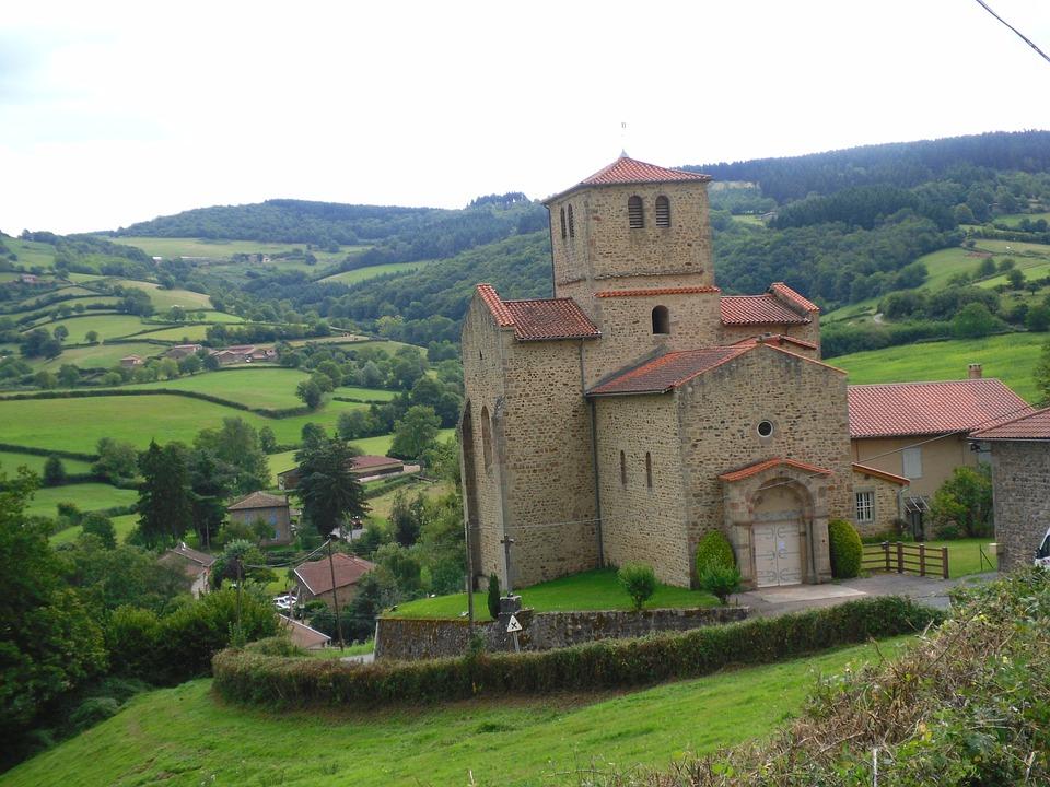 Church, Romane, Beaujolais