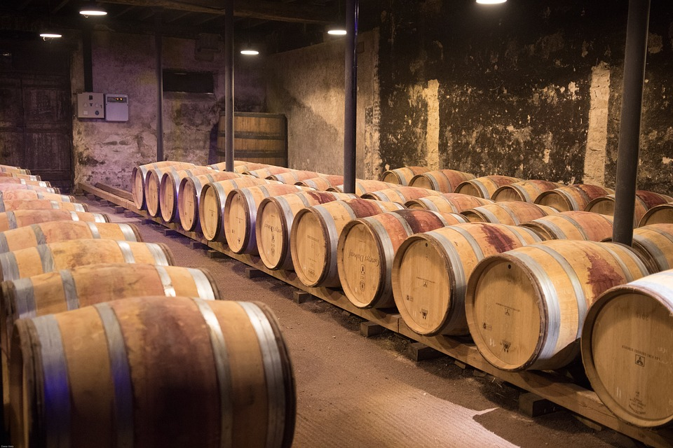 Wine, Beaujolais, Cellar, Wine Barrels, Keller
