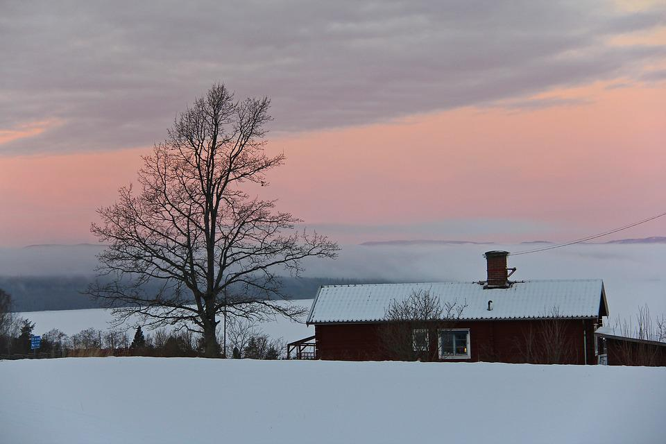 Sunrise, Beautiful, Amazing, Colorful, Sky, Snow, Ice