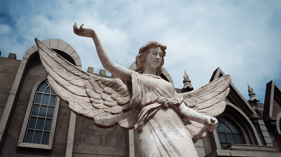 Sculpture, Angel, Christianity, Sacred, Beautiful