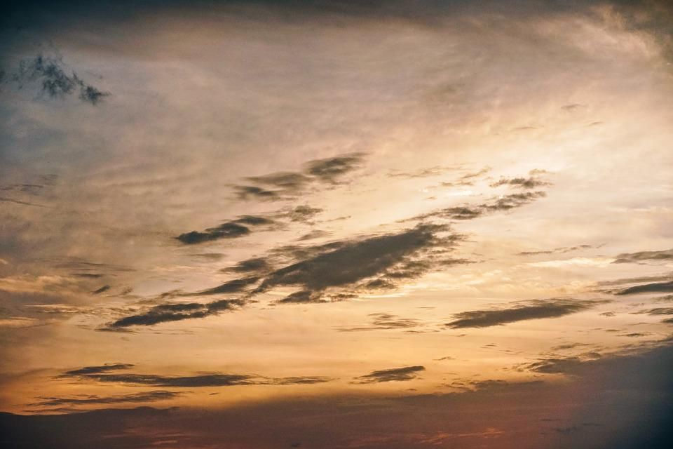 Background, Beautiful, Beauty, Clouds, Color, Dusk