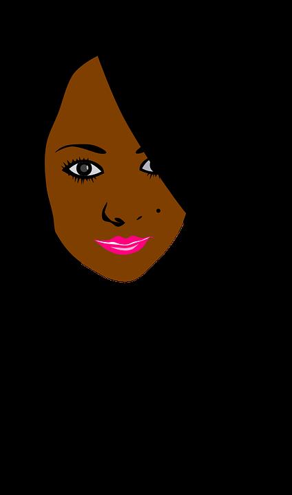 Girl, Black Hair, Face, Smile, Beautiful, Brown