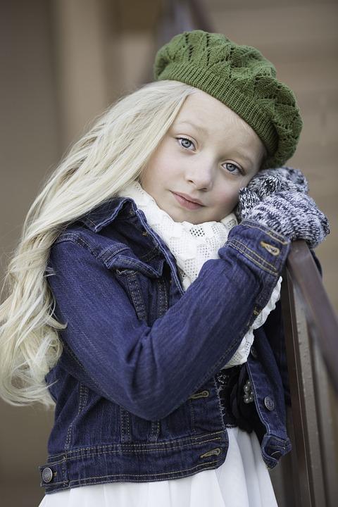 Beautiful, Model, Girl, Portrait, Face, Hair, Child